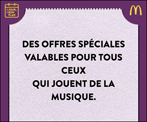McDonald's – Special deals on April & May 2018