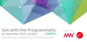 Get with the Programmatic 2016