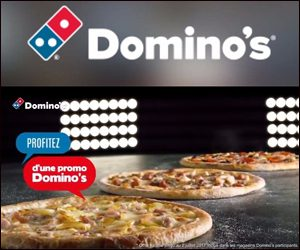 Domino's – In-banner video