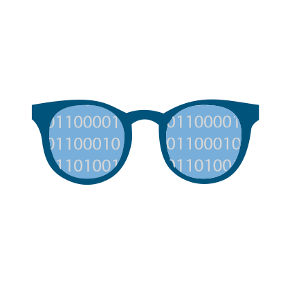 icon of expert glasses
